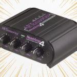 多チャンネルヘッドフォンアンプ「ART HeadAmp4 」のレビュー|SAMSON S-AMPとの比較