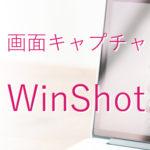 マウスポインタを含めて画面を保存できるフリーソフト「WinShot」の使い方を紹介
