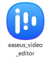 easeus-video-editorの実行ファイル